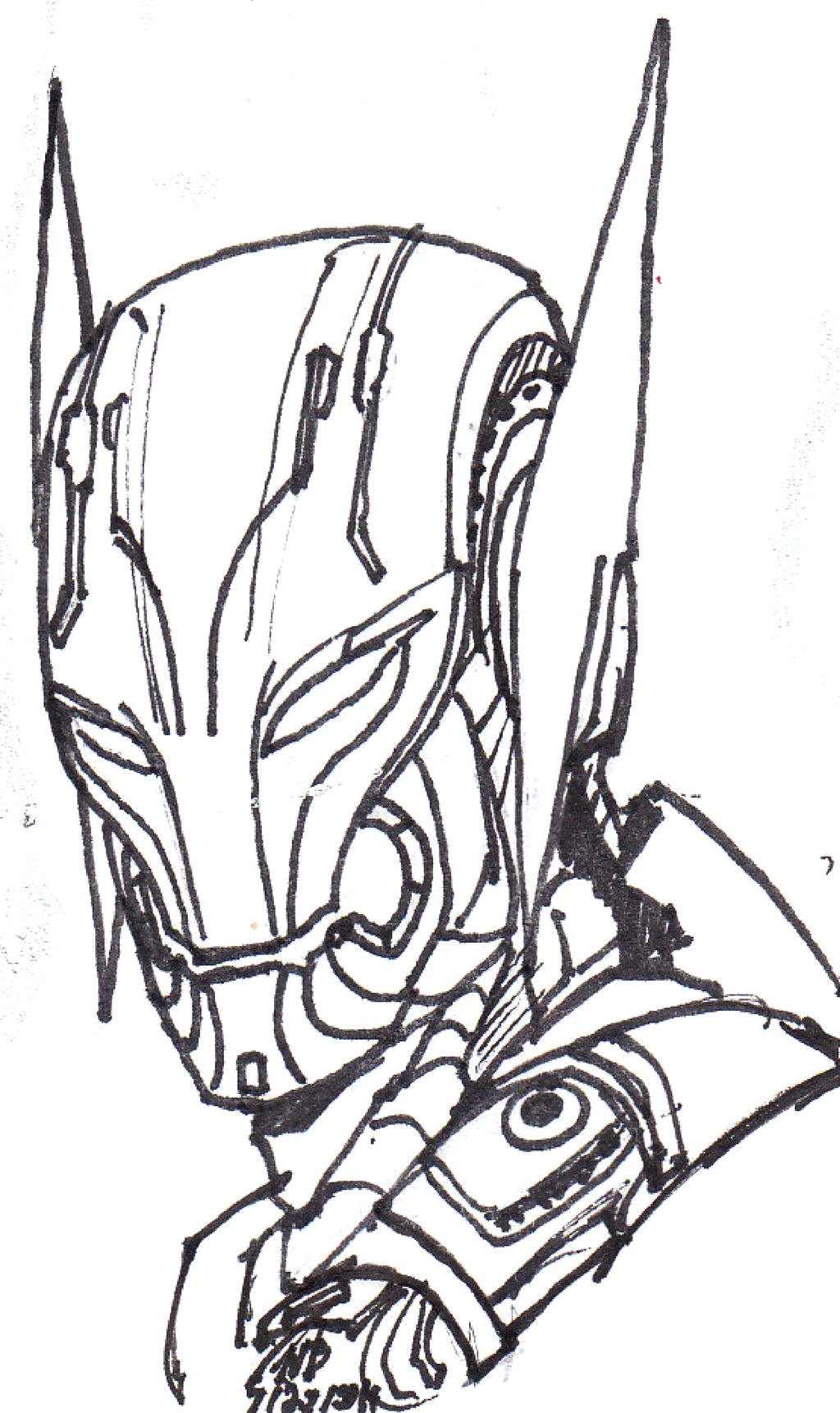Ultron Marvel Coloring Pages Coloring Pages