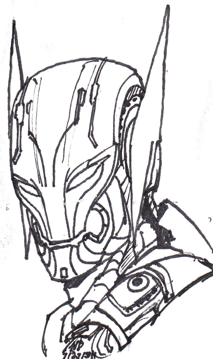 Picture A Week 2014 30 Ultron By ConstantM0tion On