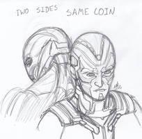 Same Coin by ConstantScribbles