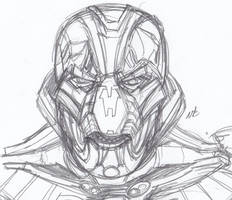 Angry Ultron by ConstantScribbles