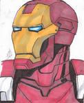 Iron Man 4x6 Sketch
