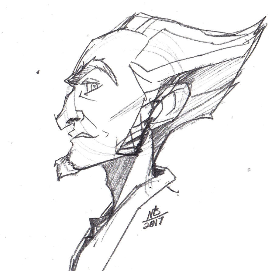 Count Olaf Sketch by ConstantScribbles on DeviantArt