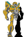 Animated Bayformers Bumblebee Sketch