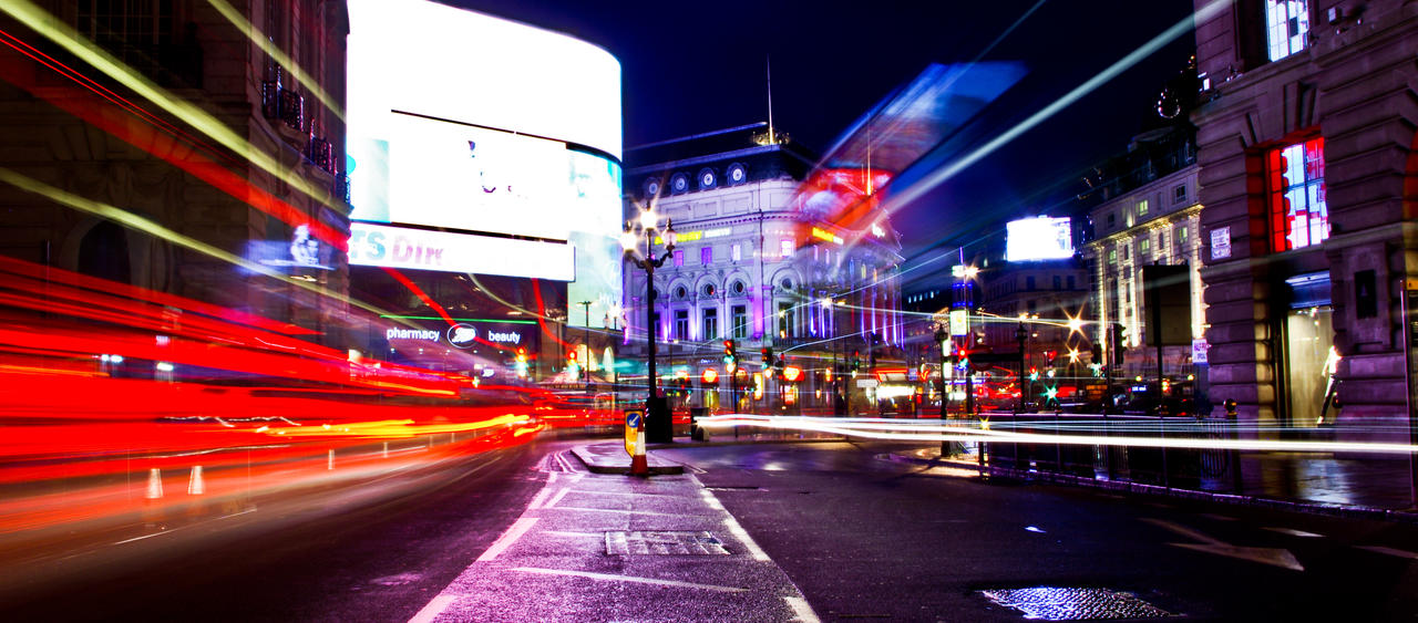London - Picadilly circus by free-way-of-life