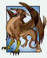 Gryphon for Sleyf by singham-wilk