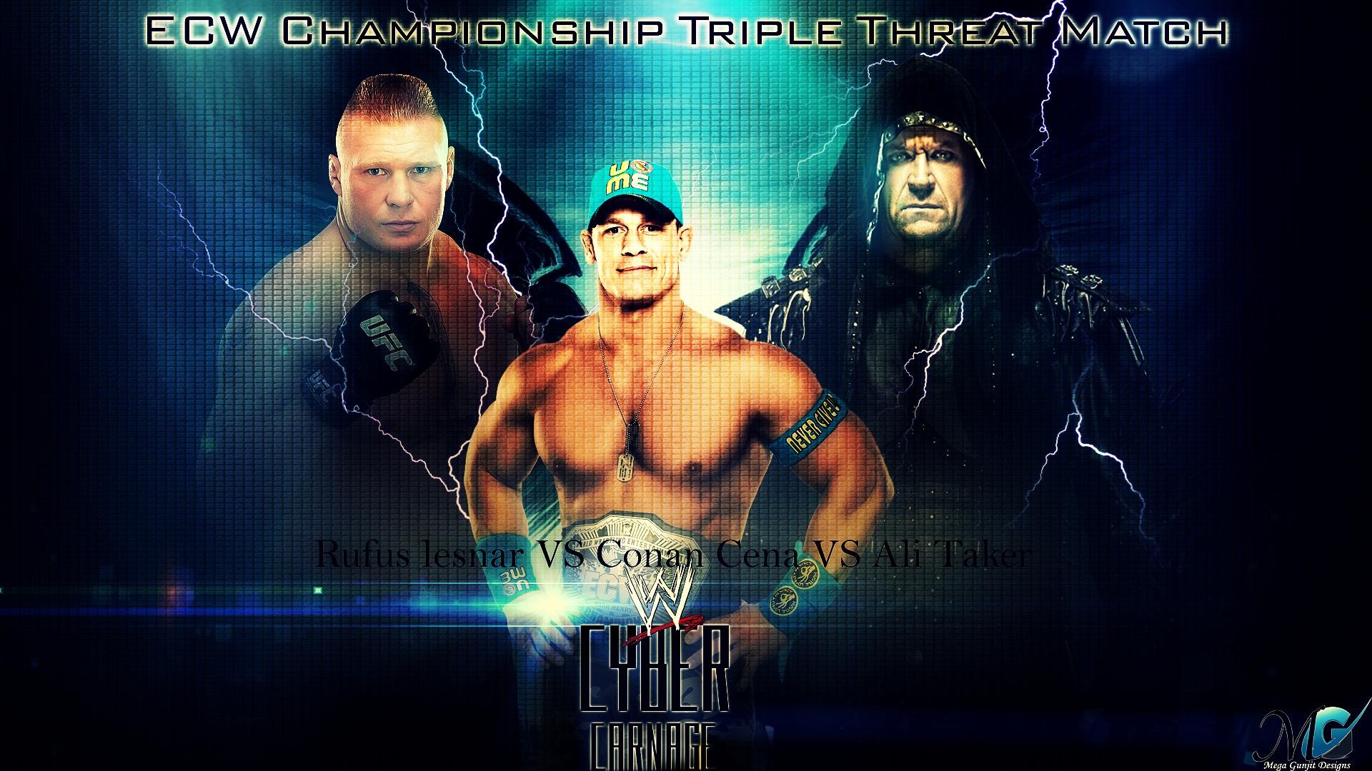 WWE Wallpapers By Megagunjit On DeviantArt