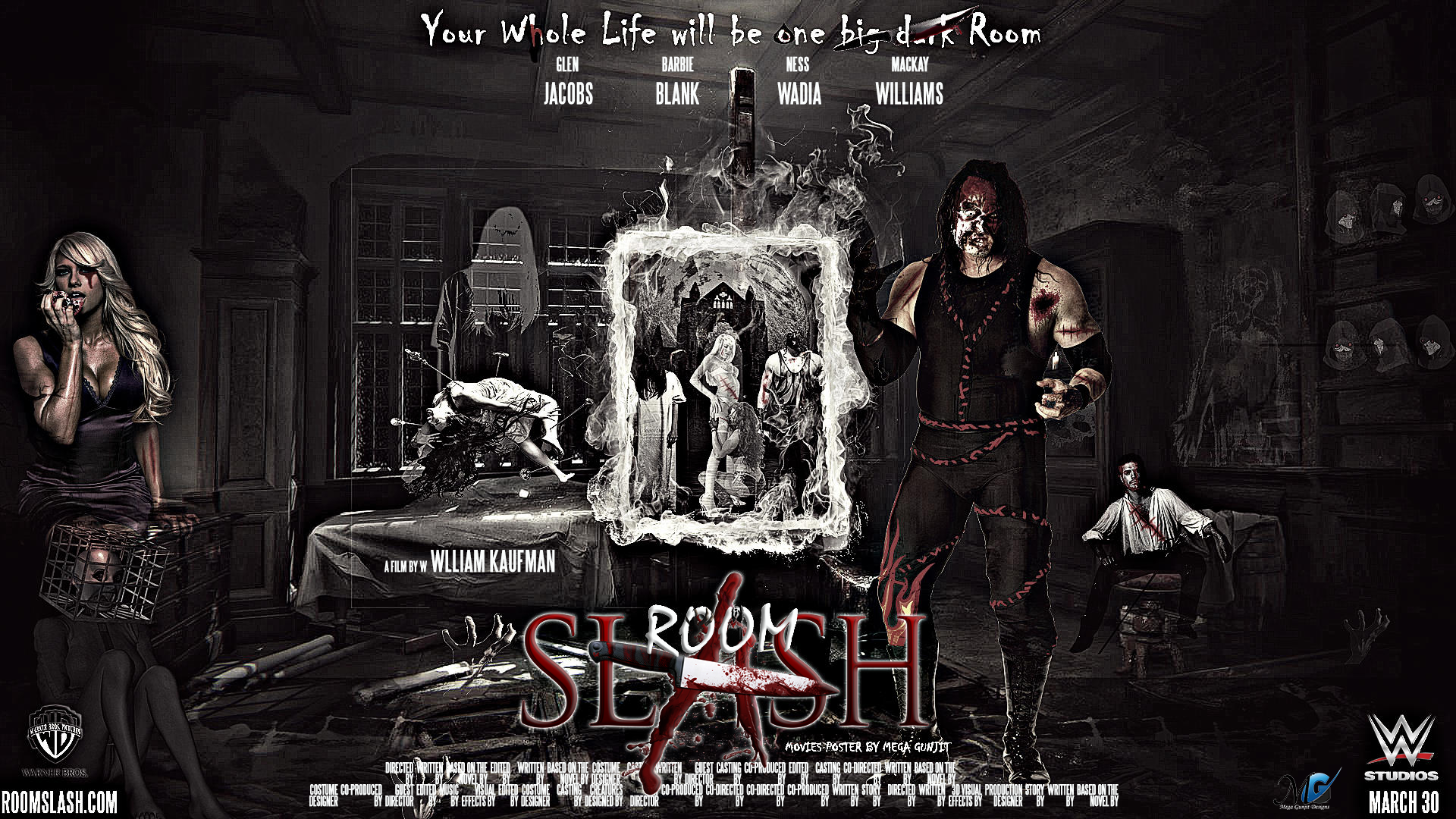 Wwe hd horror movie poster kane and kelly kelly by megagunjit on wwe hd horror movie poster kane and kelly kelly by megagunjit voltagebd Image collections