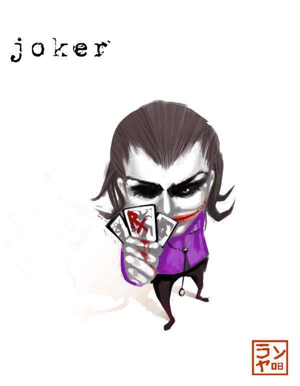 Joker Chibi by dothakz on DeviantArt