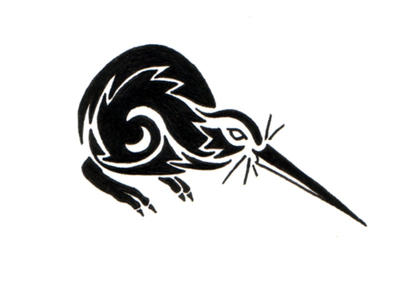 Kiwi Tattoo by sparkycom