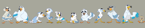 Gull Squad! by Pcaara