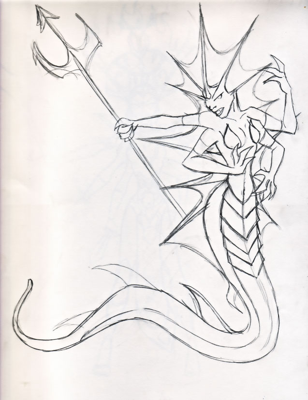 Bad Girls of Warcraft- Naga by miladyhiakara