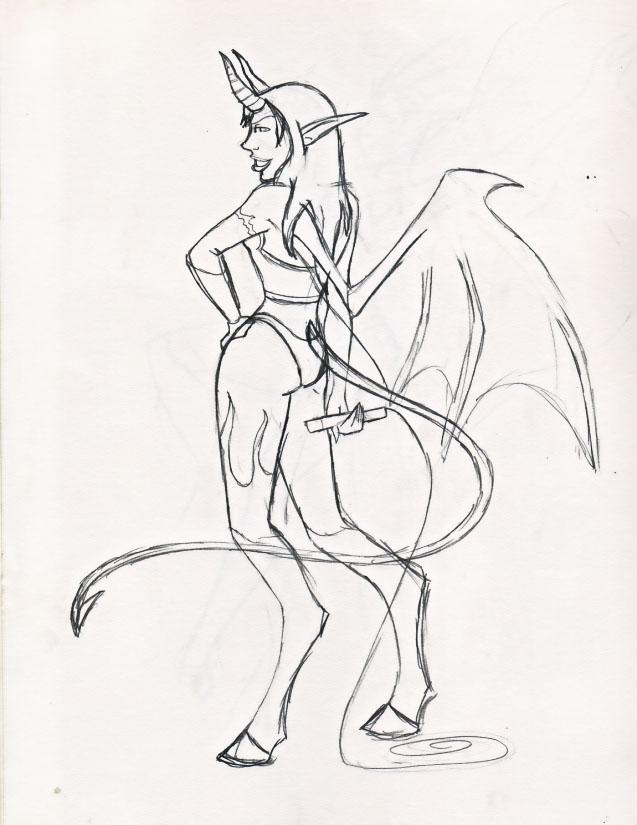 BadGirls of Warcraft- Succubus by miladyhiakara
