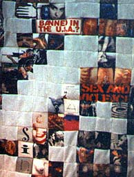 An American Quilt (detail) by spookymonkey