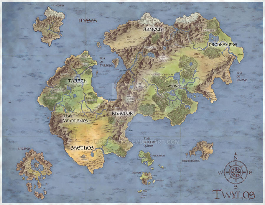 Twylos Map by judgefang on DeviantArt