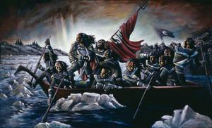 Klingons Crossing the Delaware
