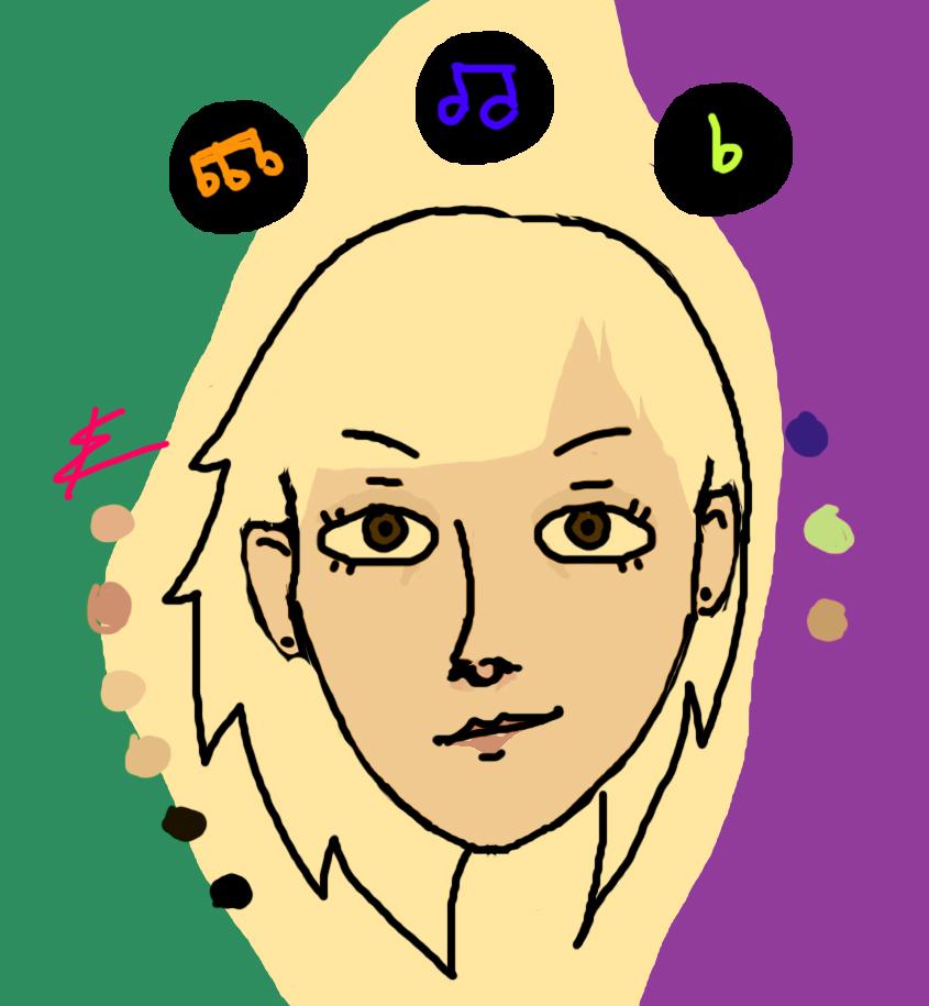 Psychedelic Selfie by Animefreak0003