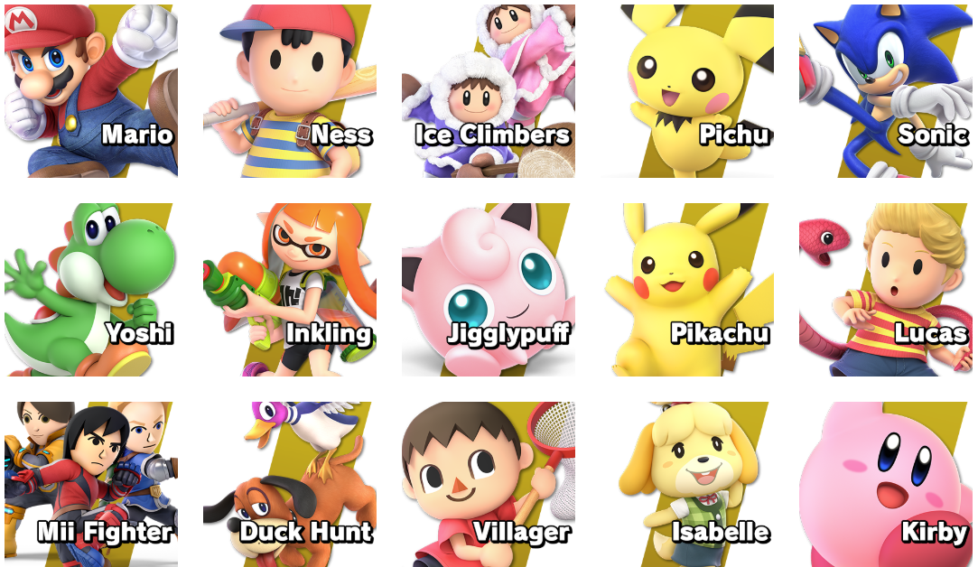 Characters I am most likely gonna used by SuperMarcoToad64