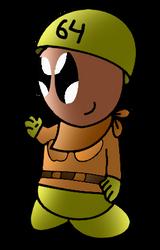 Smt64 in Toad Bridge Uniform