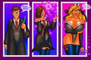 COMM Harry becoming a bimbo by FredRichi69
