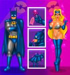 COMM Batman becoming a bimbo by FredRichi69