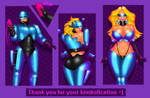 COMM Robocop bimbofication by FredRichi69 by FredRichi69