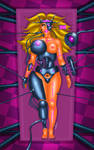 Transformation Chloe into fembot by FredRichi69 by FredRichi69