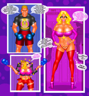 COMM Bully TG TF into Jenna Jameson by FredRichi69