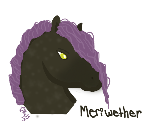 Meriwether Chibi Headshot by Lazzeh