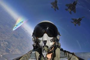 Rainbow Fly-By by Bryal