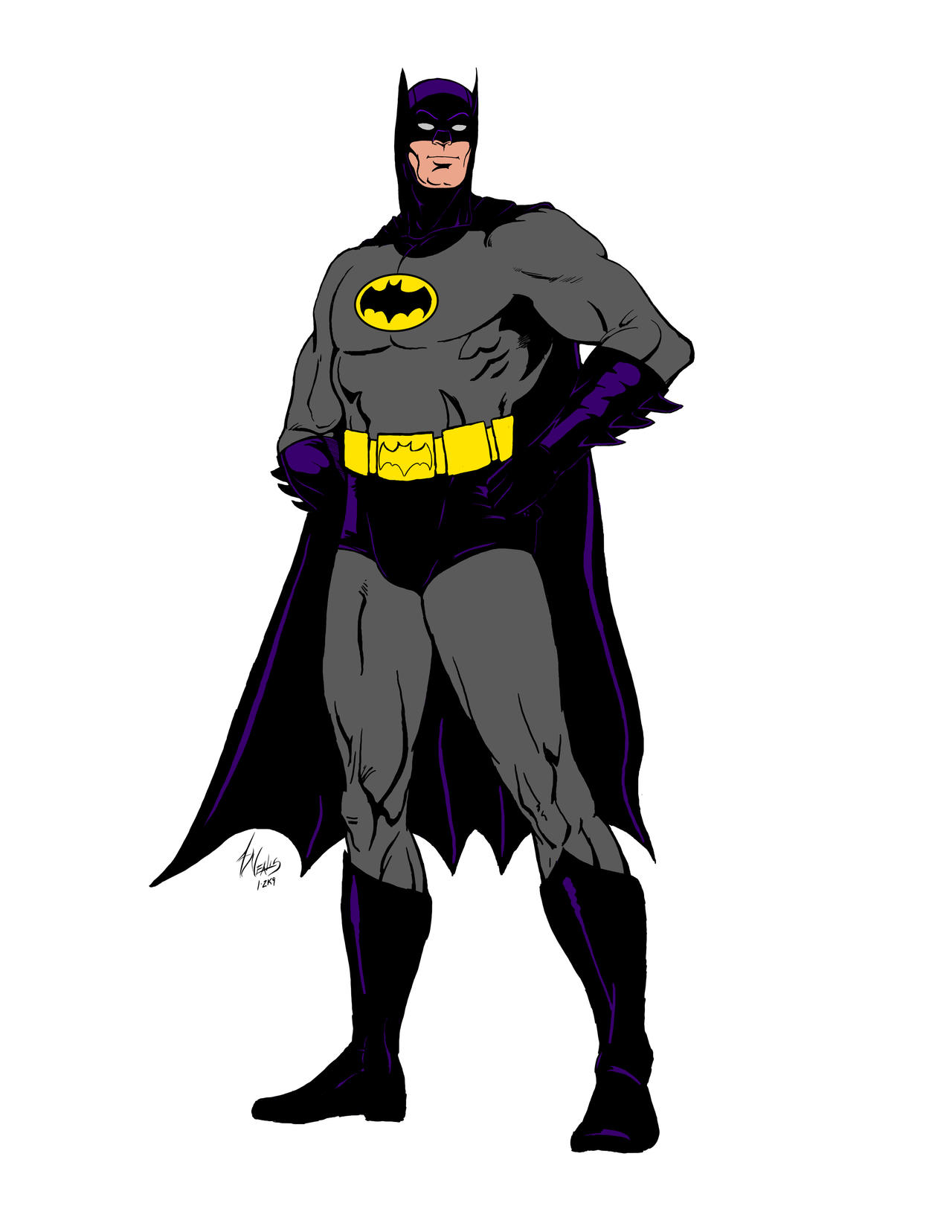 Fee Sketch 8-1-9 Batman by Dub-T