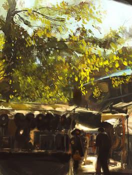 Camden Town, light study