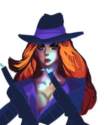 Miss fortune by Ace43MR