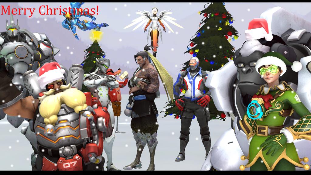 Nyltiac and firestar caitlyn coble deviantart - Overwatch christmas wallpaper ...