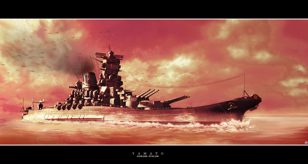 The Rise of Yamato by Siregar3D