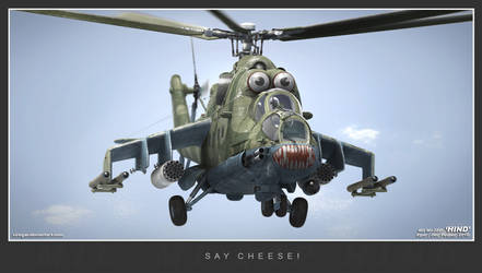 Say Cheese Hind by Siregar3D