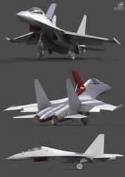 Su-30 MK2 wip4 by Siregar3D