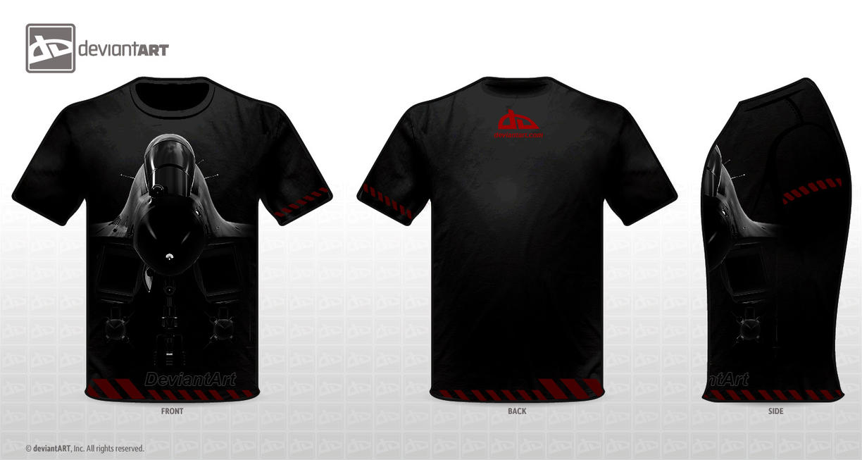 Flanker T-shirt design by Siregar3D