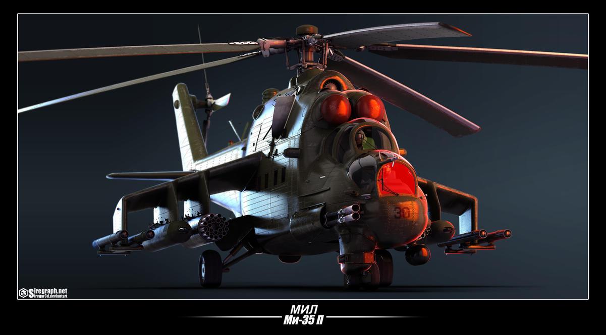Mi-35P v2 by Siregar3D