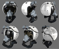 Zsh-7AP Flanker Helmet + HMS by Siregar3D