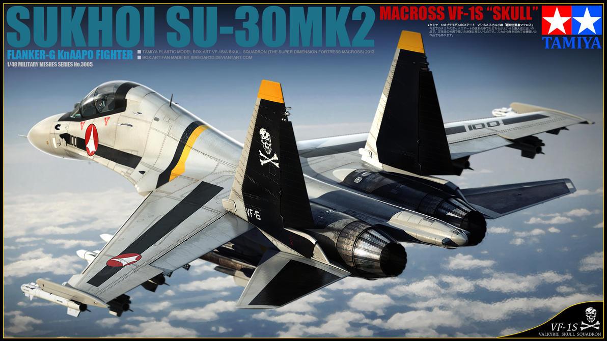 Su-30 Macross Skin by Siregar3D