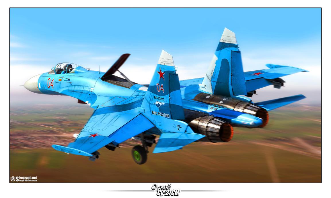 Su-27SM '04' by Siregar3D