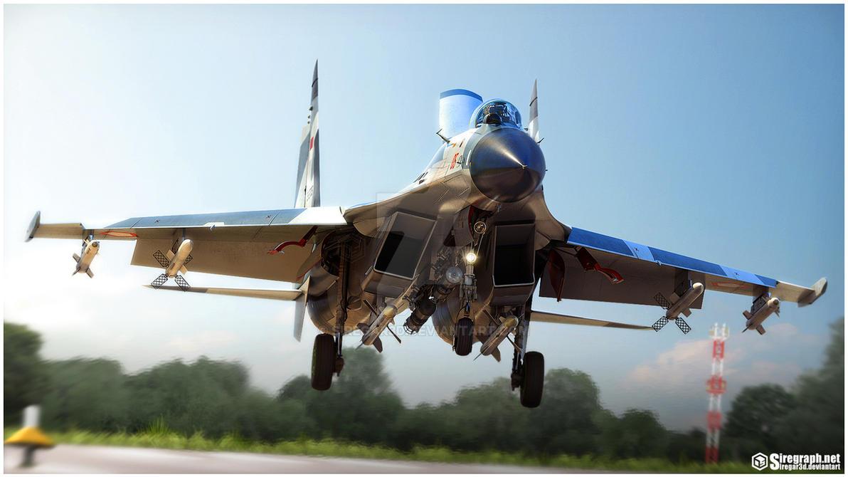 Su-27SKM '05' by Siregar3D