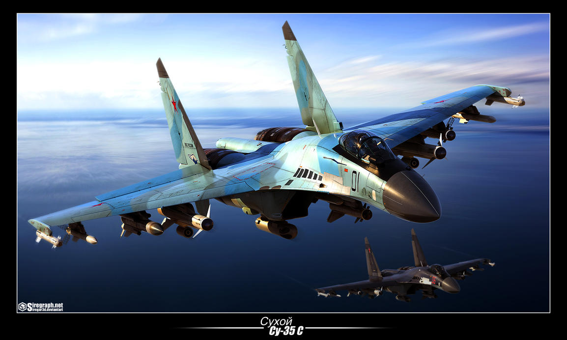 Su-35S The Last Flanker by Siregar3D