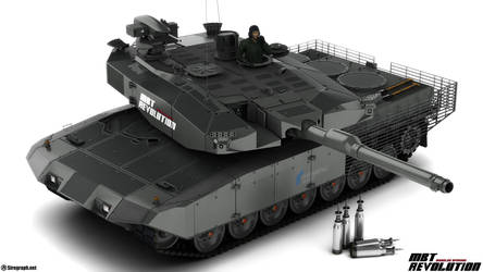 Leopard 2 MBT Revolution v1 by Siregar3D