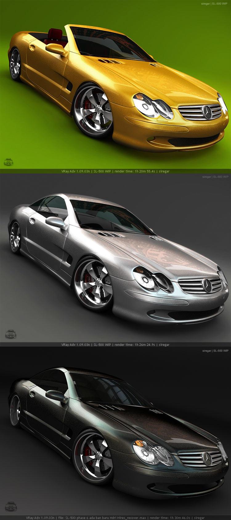 SL-500 WIP new renders by Siregar3D