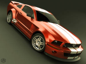 Mustang 2005 Red Version
