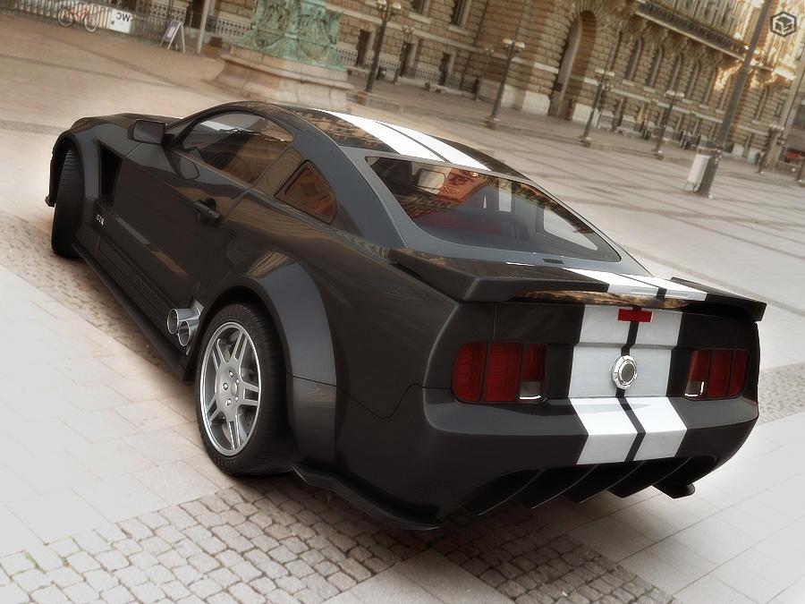 Mustang 2005 Scene Version by Siregar3D