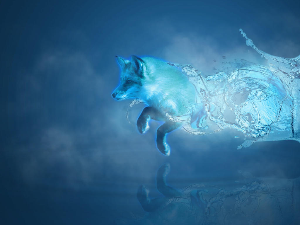 The Gallery For Gt Water Elemental Wolf