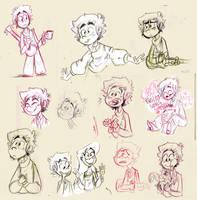 Sunday Doodles by kanoomoo