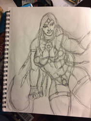 Neith redesign  by howard777